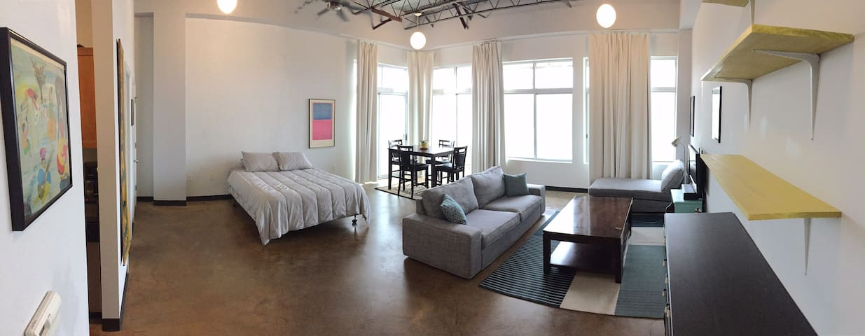 Modern studio in the heart of East Austin! - Austin - Loft