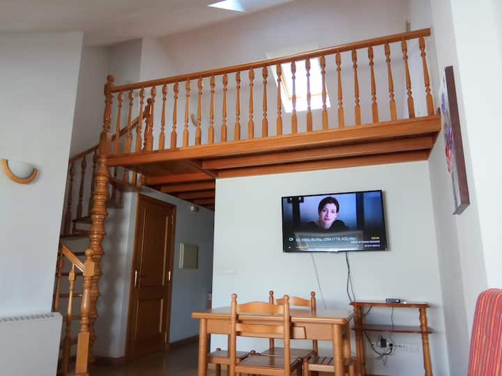 Penthouse located in the old town of Viveiro