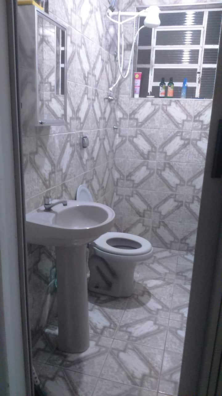 Casa de fundo quarto compartilhado