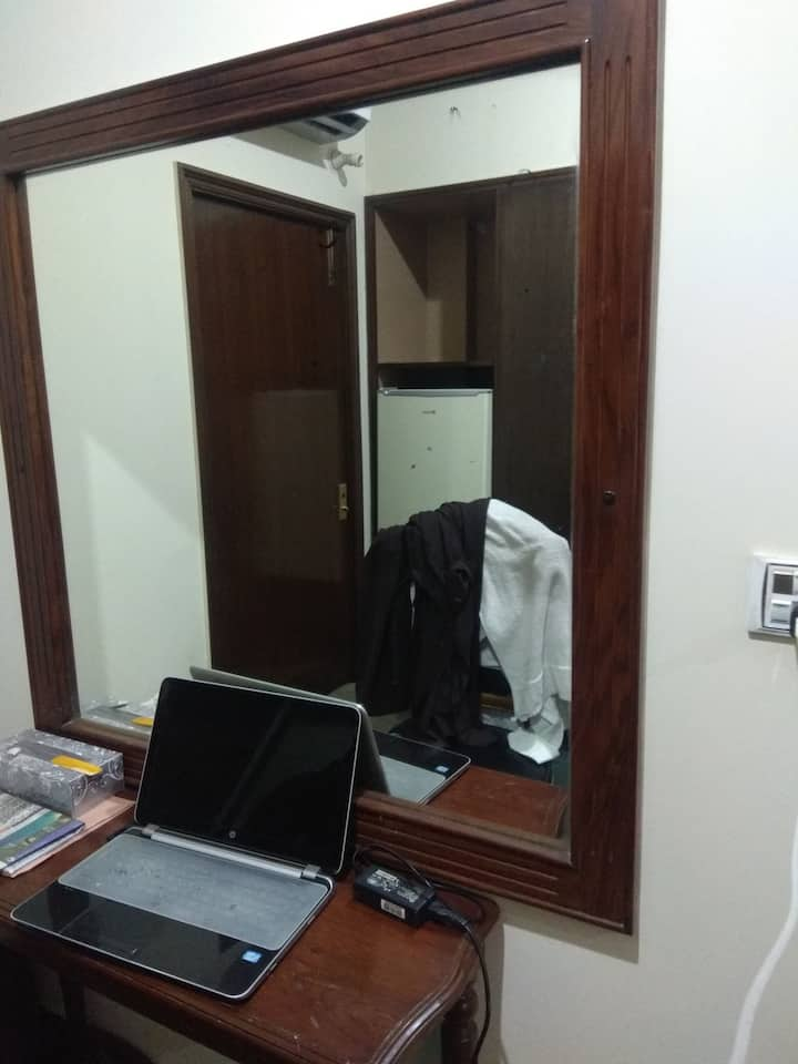 Bedroom with Attached Washroom