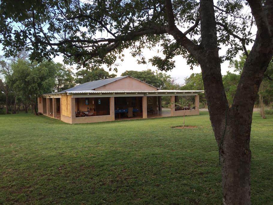 Yard + house exterior