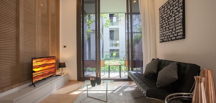 Luxury Beach Apartment Maison Verde