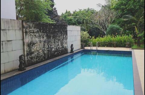 Villa Muri Salim, the Balinese green village