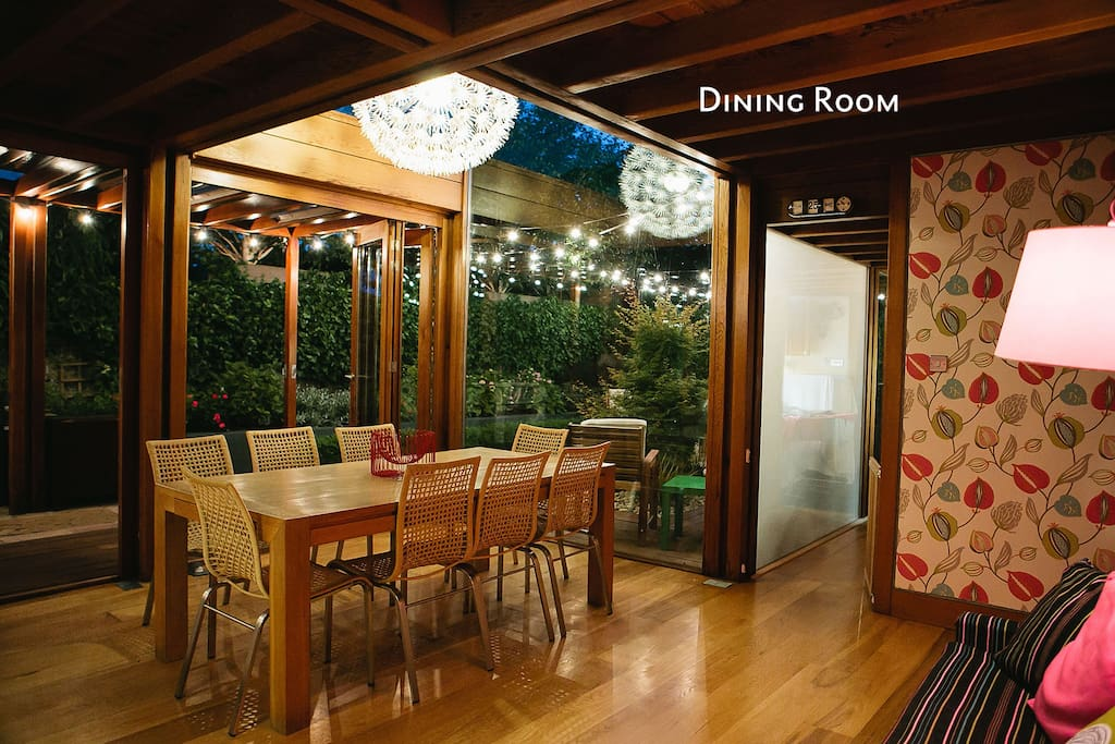 Dining Room by Night