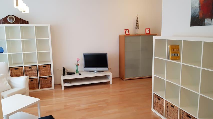 Modern, 133qm flat with nice garden in Budapest