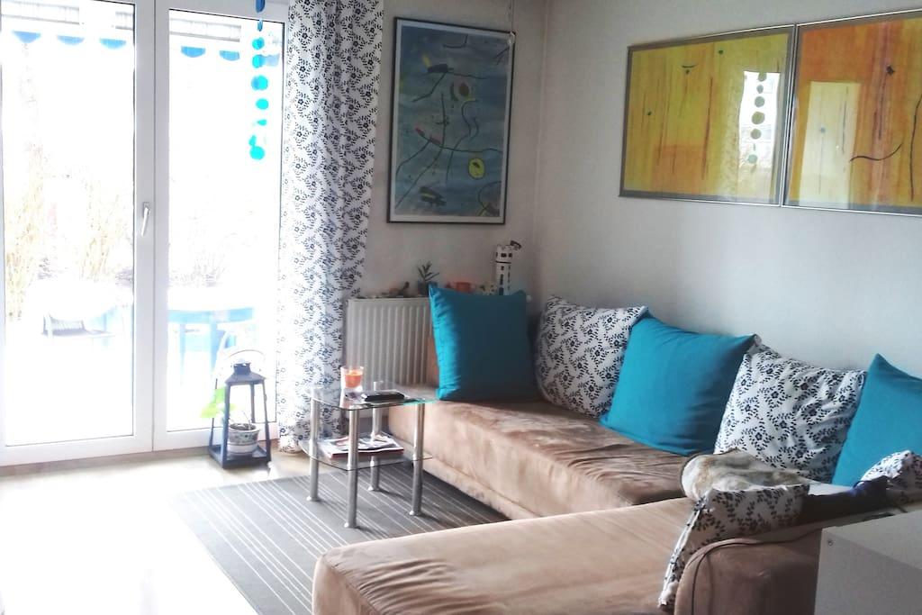 wohnen wie in wg appartements louer baienfurt bade. Black Bedroom Furniture Sets. Home Design Ideas