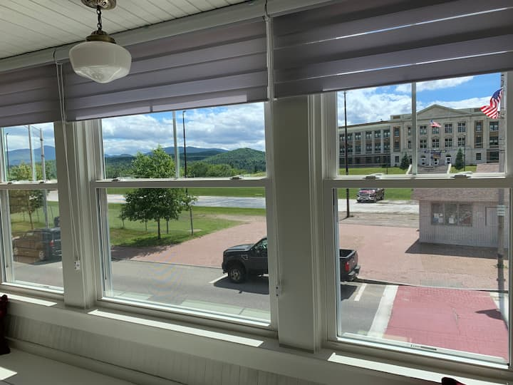 Downtown Lake Placid / Olympic Oval View!