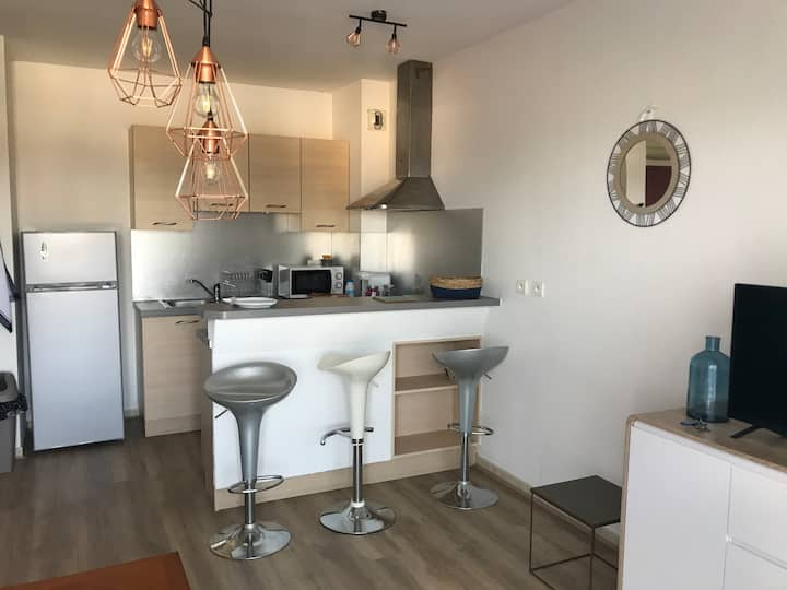 Charmant appartement T2 1 lit  4 couchages