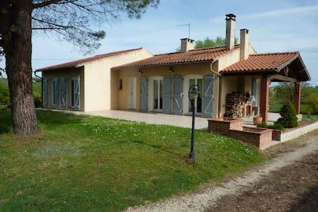 Maison calme avec jardin de 1500 m2 - Verfeil - Rumah