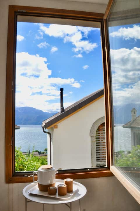 """A """"capite"""" for two, in the heart of Lavaux"""