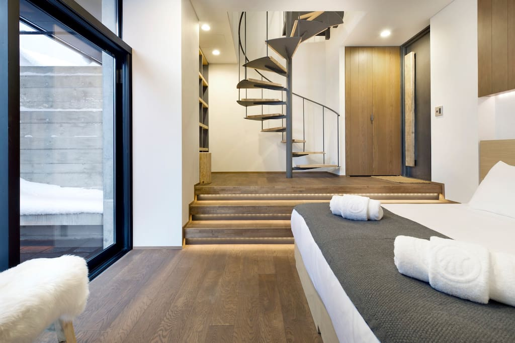 Master bedroom - Down Stairs