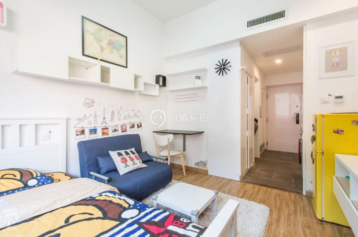 Cool stay , comfortable apartment, new community
