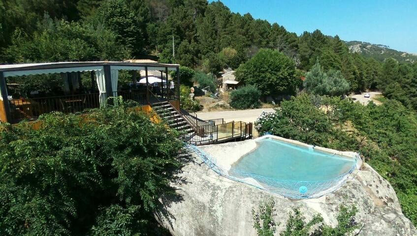 Chambre Ospedale vue panoramique - Porto-Vecchio - Penzion (B&B)