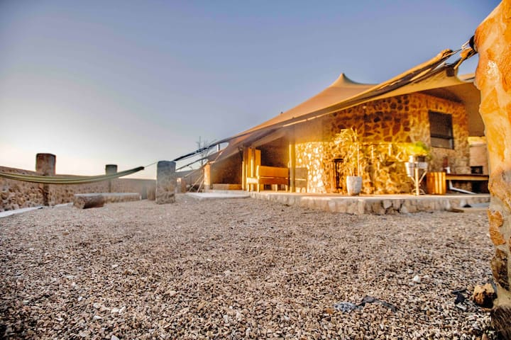 Riebeek Valley Hills luxury tented accommodation
