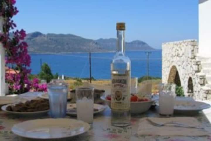 Window to the Aegean Sea