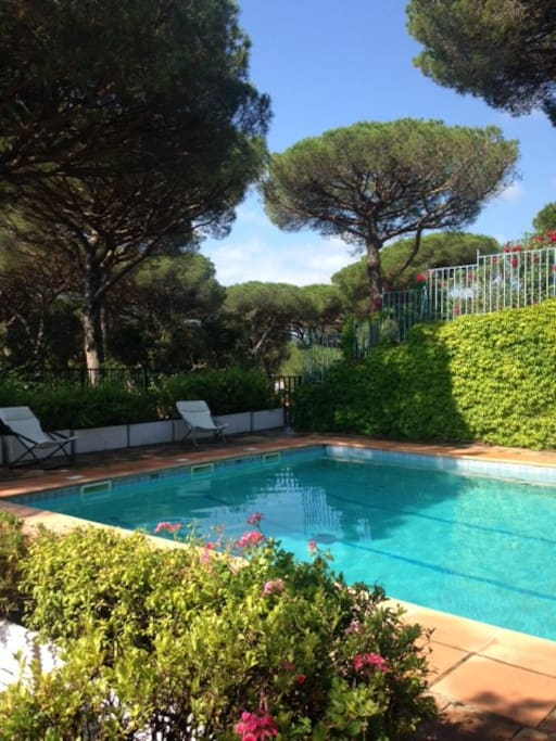 Appartement avec jardin privatif saint tropez condomini for Jardin d ohe saint maur