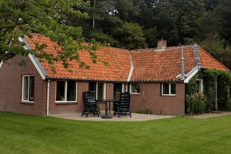 Vintage Holiday House in Donkerbroek with Private Garden