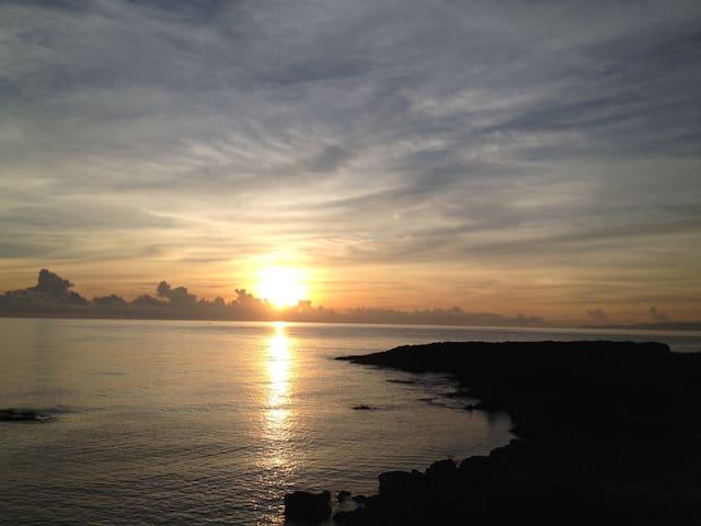 Ahhh the sunrise!