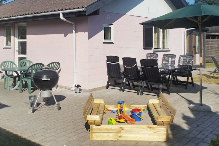 Beautiful Holiday Home in Væggerløse Denmark with Terrace