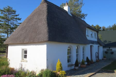 Irish Cob Cottage - Erdhaus