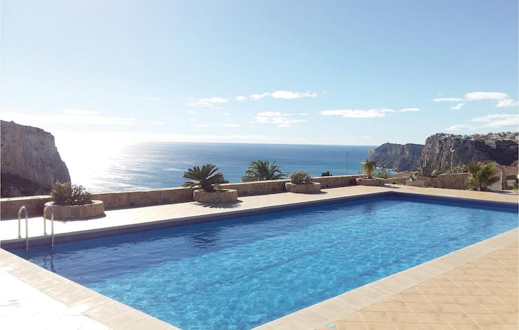 Holiday apartment with 1 bedroom on 44m² in Benitachell