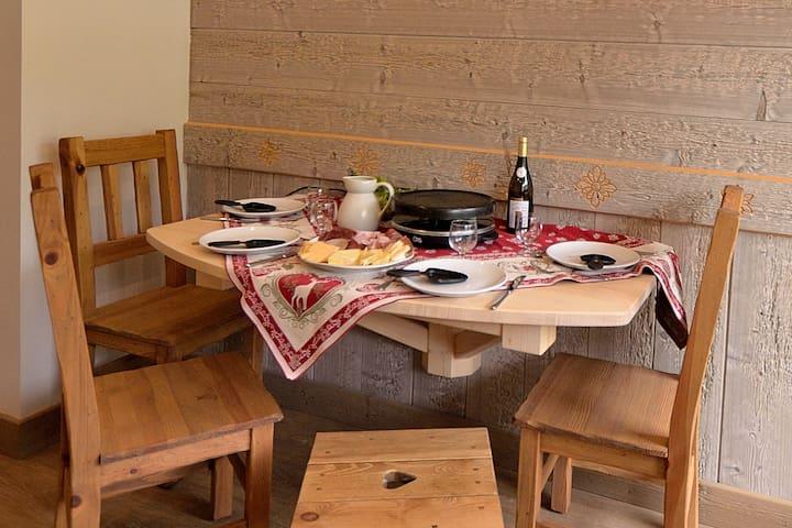RARE studio-cabine pour vacanciers exigeants