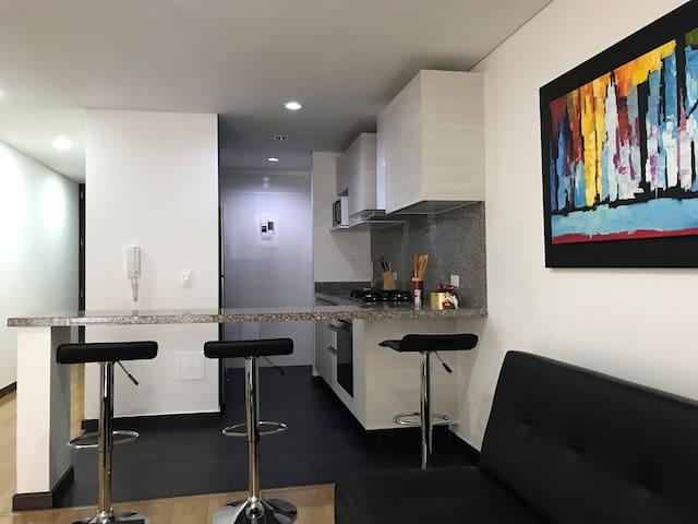 Confortable Apartamento de 58Mts  Belmira 5Star