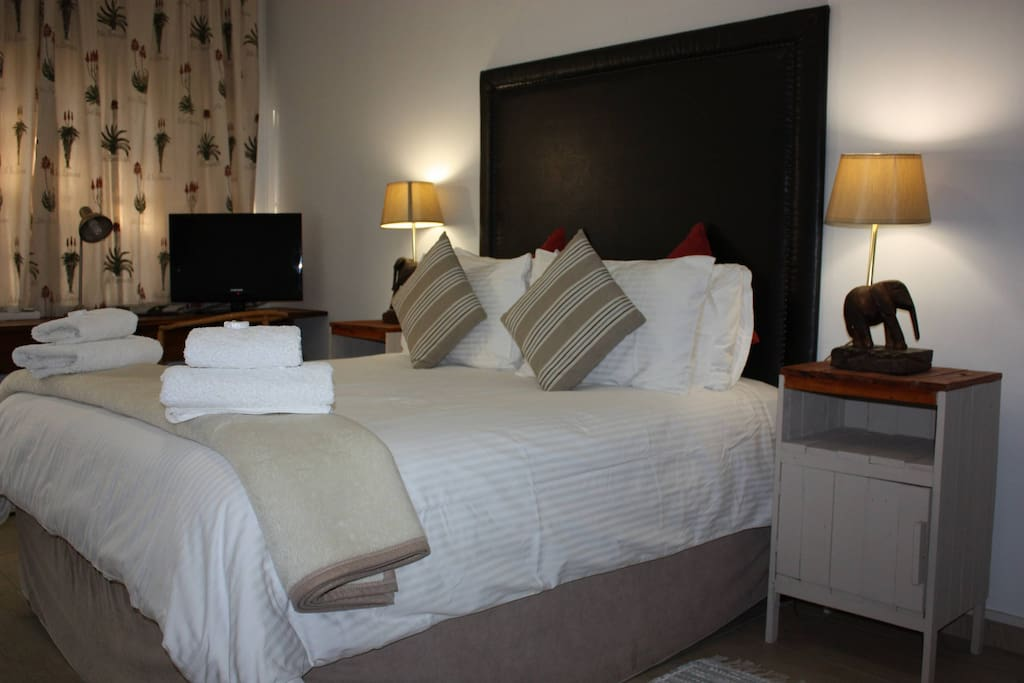 All our guest rooms are neatly appointed
