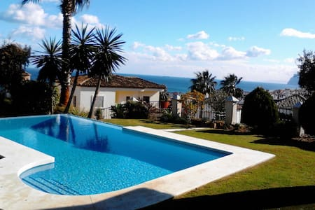 5 Bedroom, 1 min to beach, sea view - La Alcaidesa - Casa