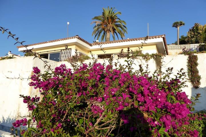 Haus mit Meerblick und großer Terrasse - La Matanza de Acentejo - Bungalow