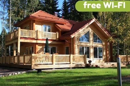 Villa Aleksi - superb lakeshore villa with jacuzzi - Hollola - 别墅
