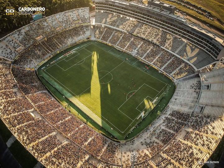 Vista aérea Estadio Campeón del Siglo