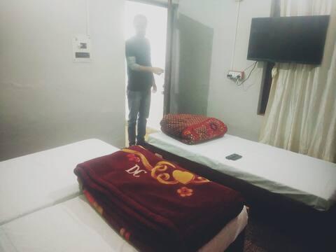 homestay room haldwani peacefull
