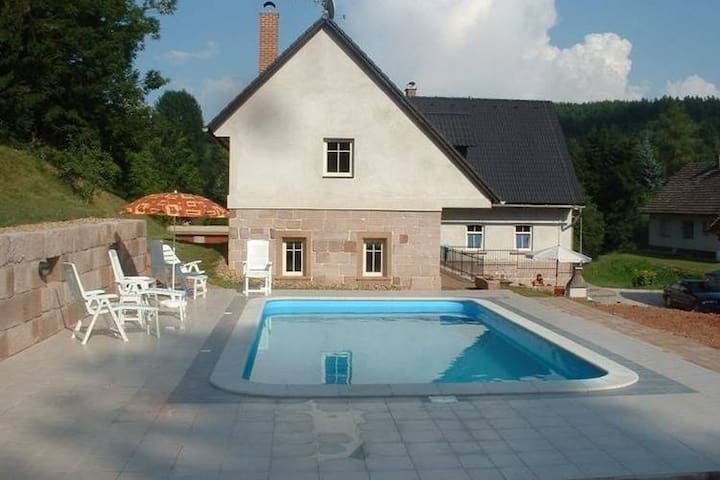 Modern Holiday Home in Vidochov with Private Swimming Pool