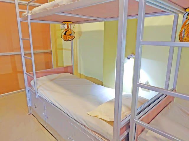 Bed in Mix Dorm at Hotel Ganesha At Assi Varanasi III