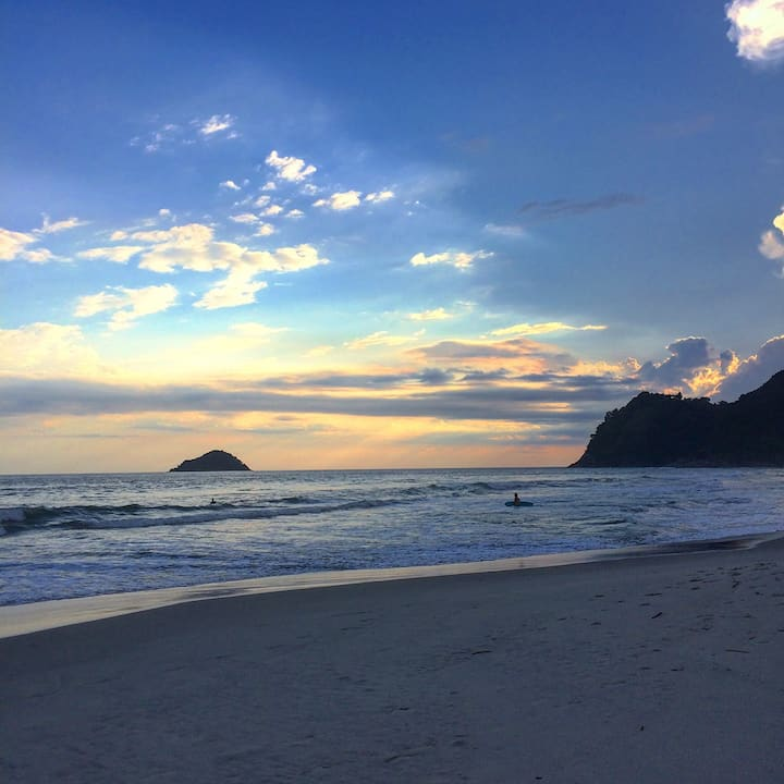 Chalé Bacana Dolittle Camburi, litoral norte de SP
