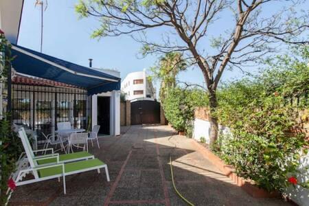 Villa in Mazagón at 400 m. del mar 2 bed 2 bath