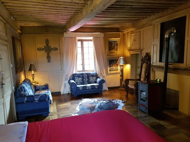 Gîte le Baron/Superior Familyroom/Honeymoon Suite