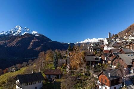 Appartamento nel cuore delle Alpi Svizzere (8Pers)