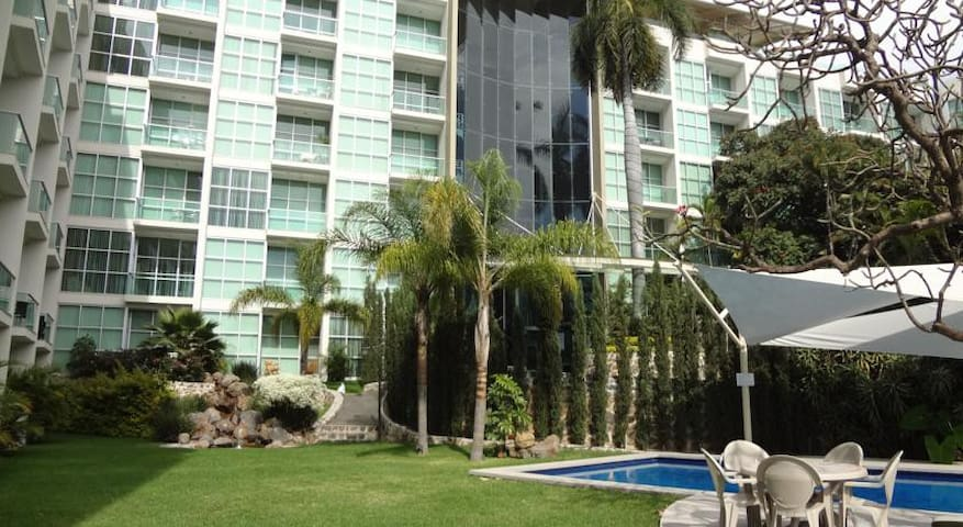 Loft planta baja en condominio - Cuernavaca - Loft