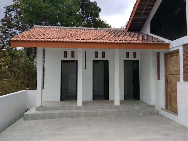 Shared bathroom but still in the compound