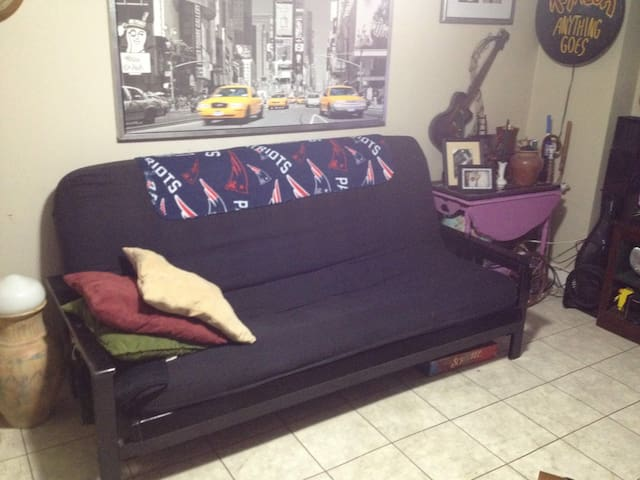 george living room futon for rent