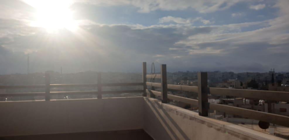 Roof studio very nice view