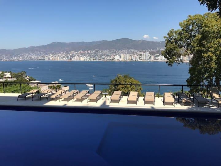 Hermosa vista a la Bahia