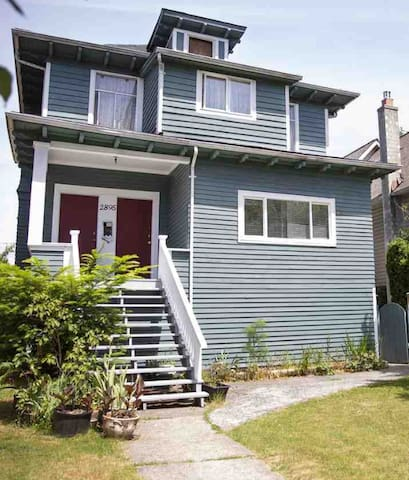 Your home away from home in Kitsilano