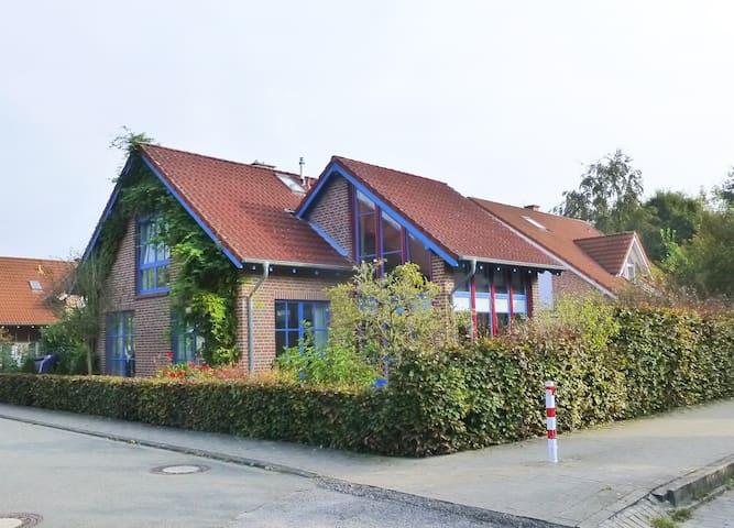 helles Studio im Grünen, citynah, Sauna - Münster - Condomínio