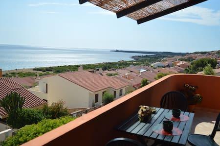 BILOCALE CON SPLENDIDA VISTA MARE - Funtana Meiga - อพาร์ทเมนท์