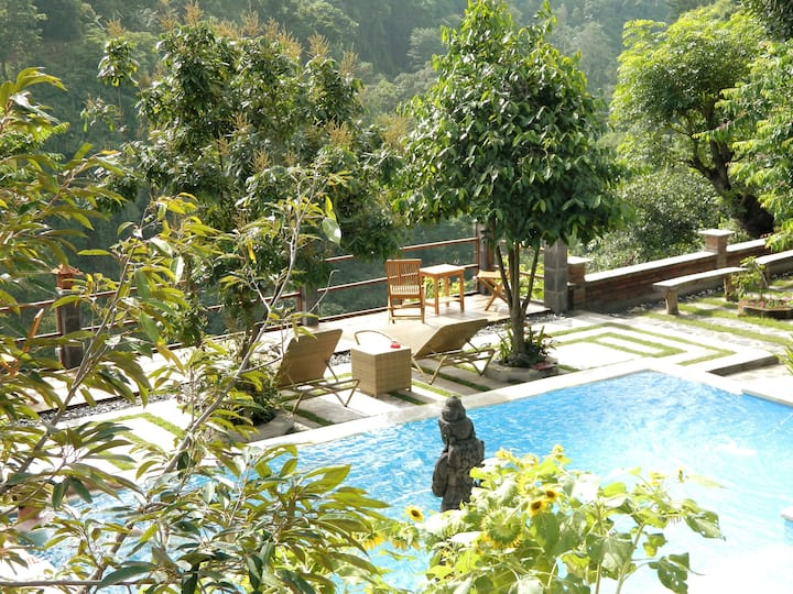 Villa  near Aling-Aling , pool , top view + garden