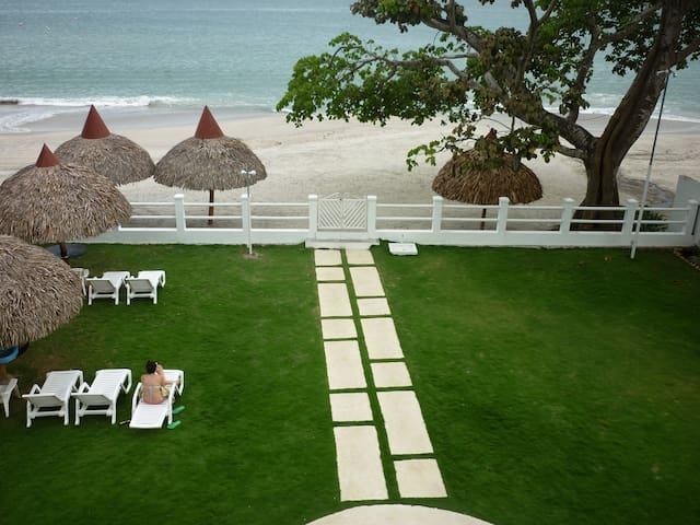 Amazing beach front , 2 bedrooms condo