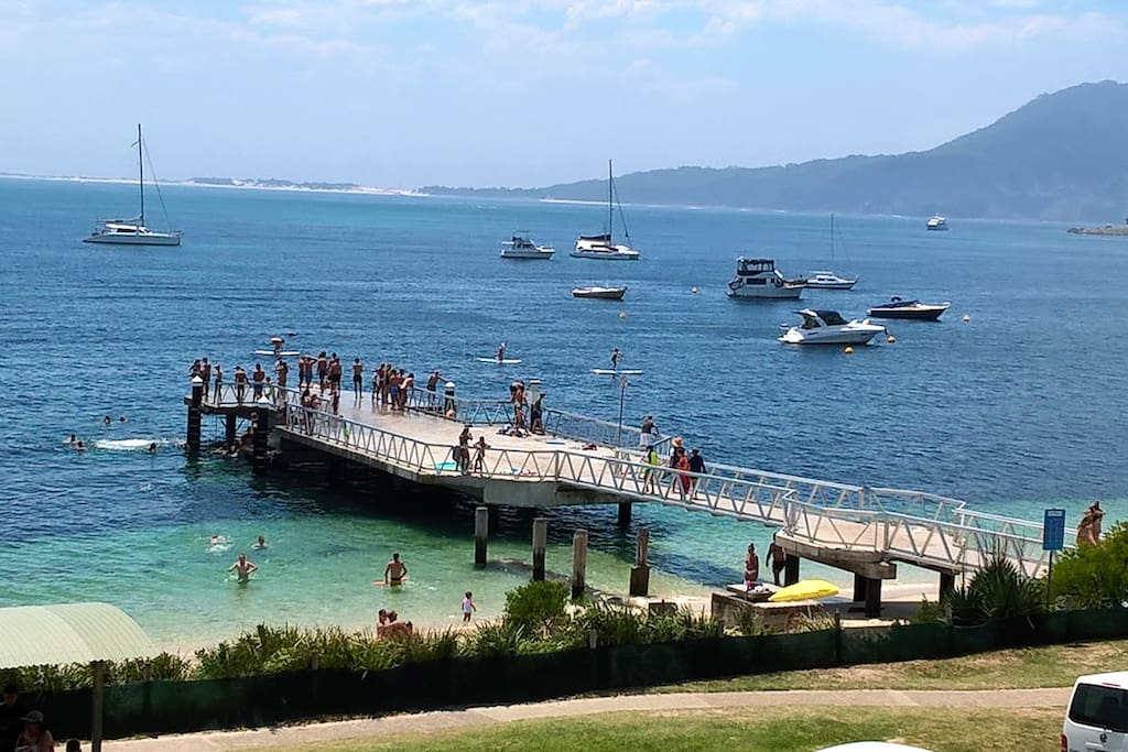 """Shoal Bay  """"Jetty Jumpers"""""""